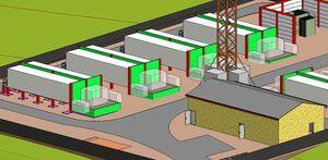 Création bâtiments et containers