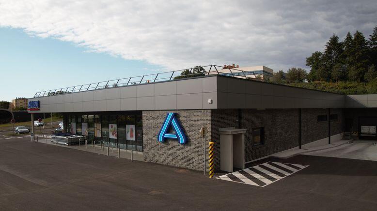 Construction d'un magasin ALDI