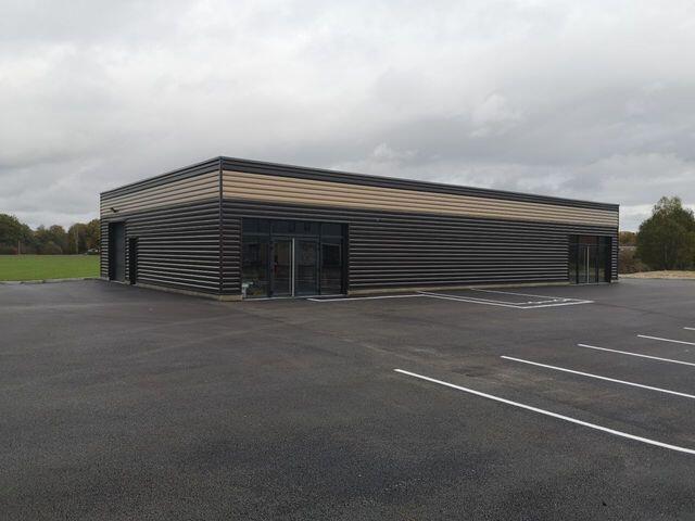 Construction d'un bâtiment de commerce BIOMONDE CLIMENT