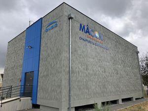 Chaufferie au centre nautique de Mâcon