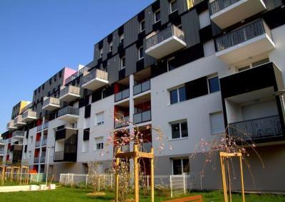 Reprise et achèvement de 85 logements collectifs à Dijon
