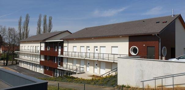 Construction de 31 logements pour personnes âgées à Cousance