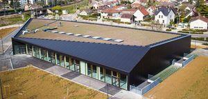 Construction du gymnase Véronique PECQUEUX ROLLAND de Longvic