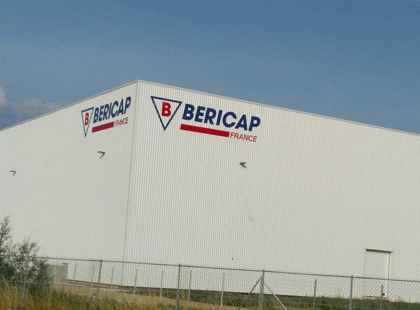 Construction d'un bâtiment de stockage en extension de 6000m² pour BERICAP à Longvic