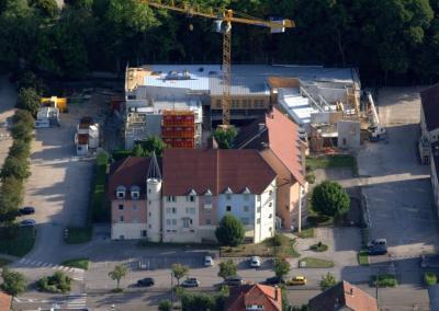 Construction de bureaux et de logements pour SOCAD à Lons le Saunier