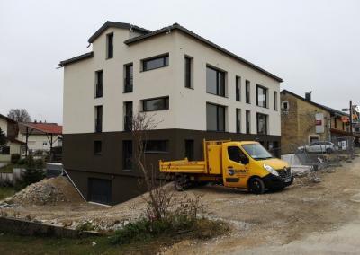 Construction d'un bâtiment collectif de 6 logements sur Les Rousses
