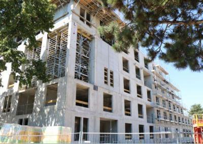 Construction de 40 logements à l'Eco quartier Via Romana de Dijon