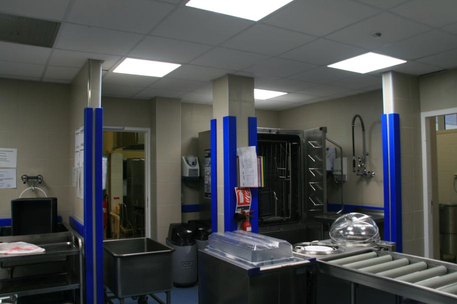 Rénovation de la laverie au lycée professionnel du bassin de Montceau
