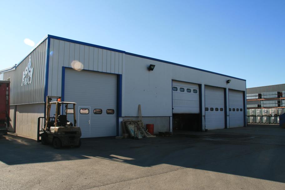 Extension du garage poids lourds Bassigny de Perrigny
