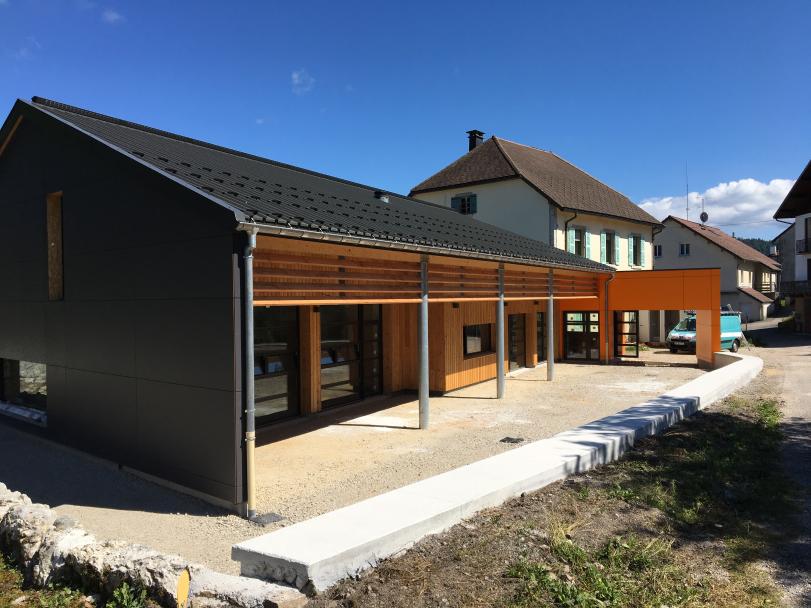 Rénovation et extension du groupe scolaire d'Etival