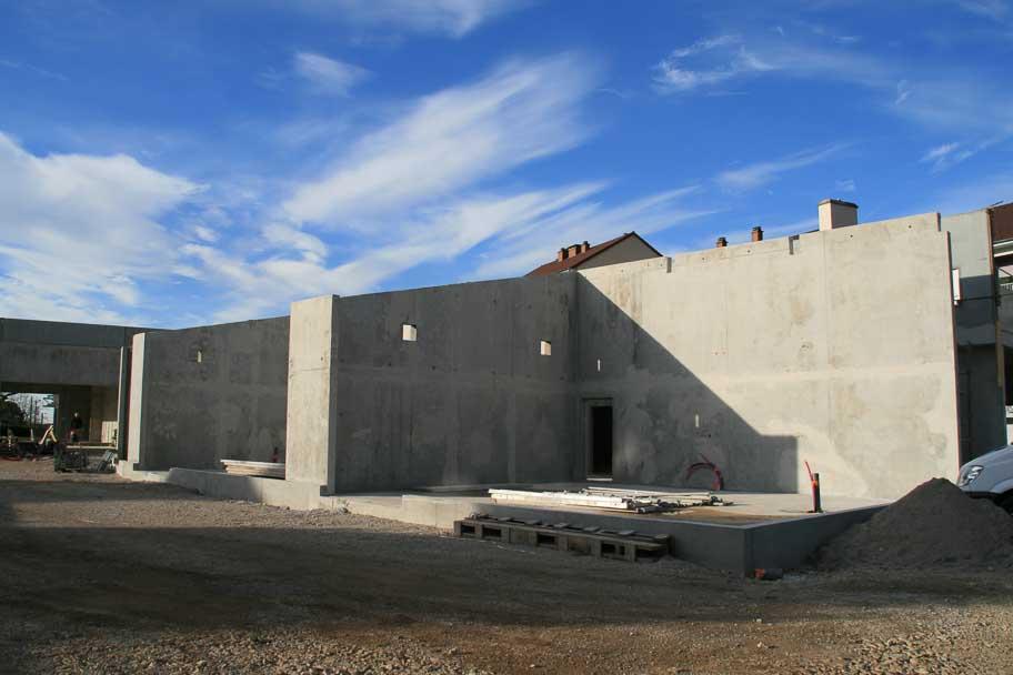 Construction du groupe scolaire «Les Perchées» de Poligny