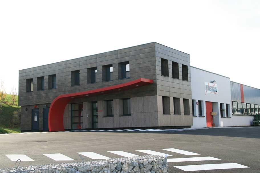 Création d'un quai béton pour l'entreprise Fibra Plastiques d'Arbois