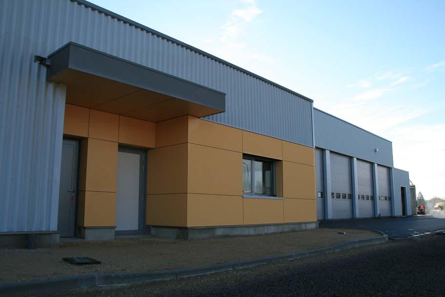 Construction d'un nouveau centre d'exploitation DRI à Saint Germain du Bois
