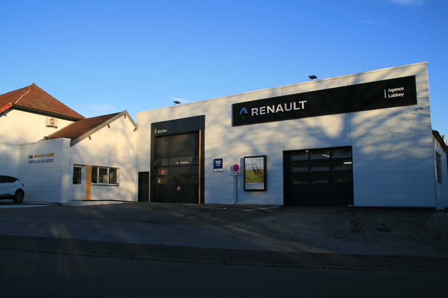 Extension et transformation du garage Labbey de Relans