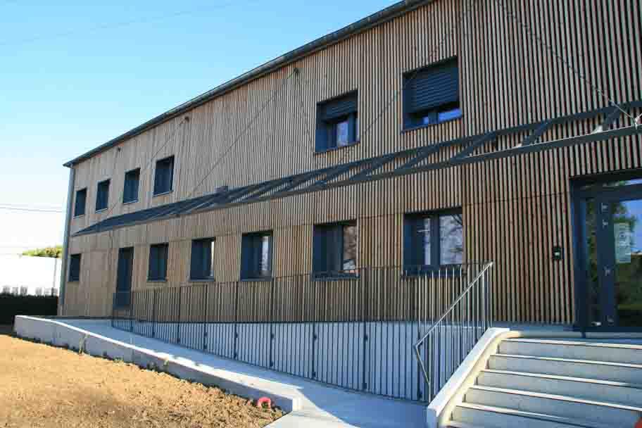 Rénovation du siège social du groupe Demain à Lons Le Saunier