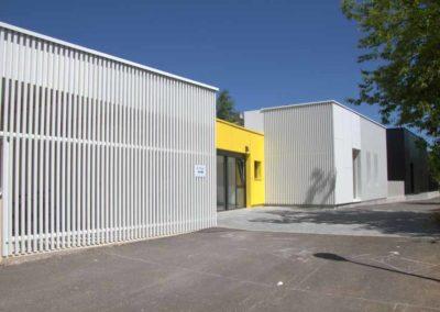 Réhabilitation et extension de la MJC Montchapet de Dijon