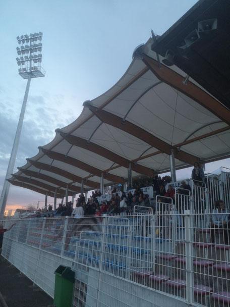 Aménagement des tribunes du stade de rugby Emile Vannier de Mâcon