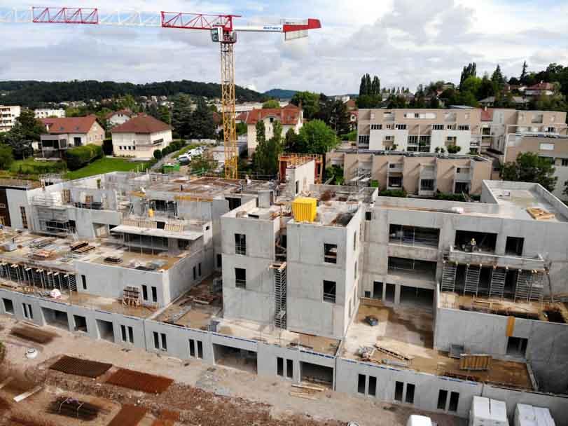 Construction d'un foyer d'hébergement pour l'APEI à Lons le Saunier